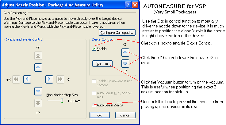 bpm micro auto measure for very small parts